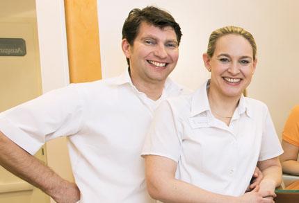 Dr. Torsten Stecher, ZÄ Kathrin Stecher