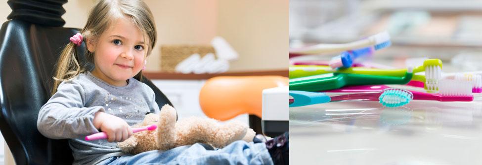 Die Zahnputzschule vermittelt spielerisch und durch Übung das Erlebnis Zahnpflege